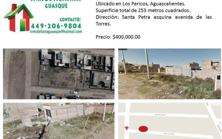 Foto de terreno habitacional en venta en  0, los pericos, aguascalientes, aguascalientes, 695157 No. 01