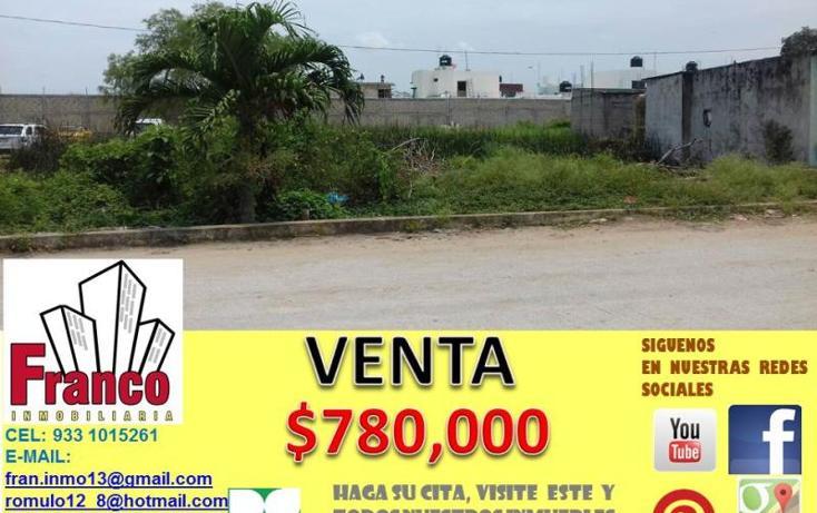 Foto de terreno habitacional en venta en  0, morelos, comalcalco, tabasco, 1945432 No. 01