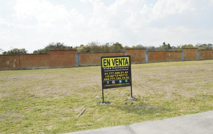 Foto de terreno habitacional en venta en  0, para?so country club, emiliano zapata, morelos, 1740248 No. 01