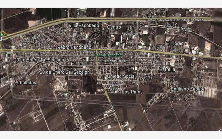 Foto de terreno comercial en venta en  0, pedro escobedo centro, pedro escobedo, querétaro, 1443147 No. 02