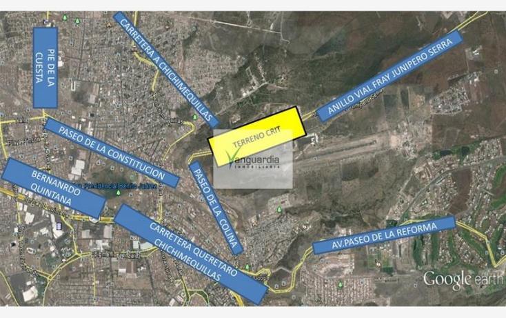 Foto de terreno comercial en venta en vial anillo fray junipero serra 0, san pedrito peñuelas ii, querétaro, querétaro, 1729558 No. 03