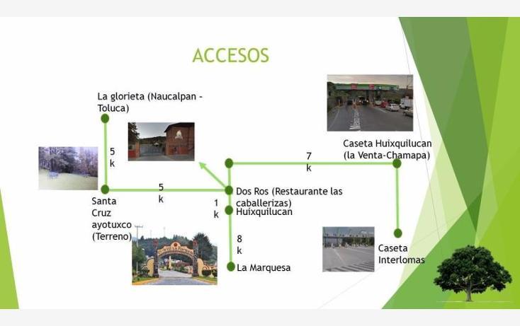 Foto de terreno habitacional en venta en  0, santa cruz ayotuxco, huixquilucan, méxico, 1479827 No. 15