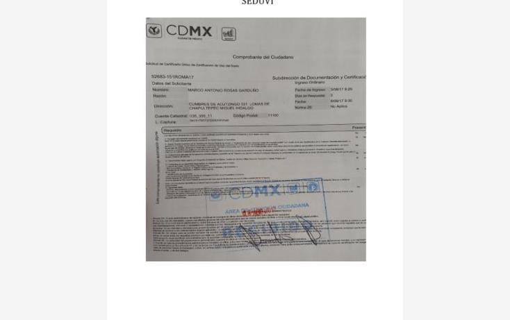 Foto de terreno comercial en venta en 00 00, lomas de chapultepec ii sección, miguel hidalgo, distrito federal, 3419235 No. 13