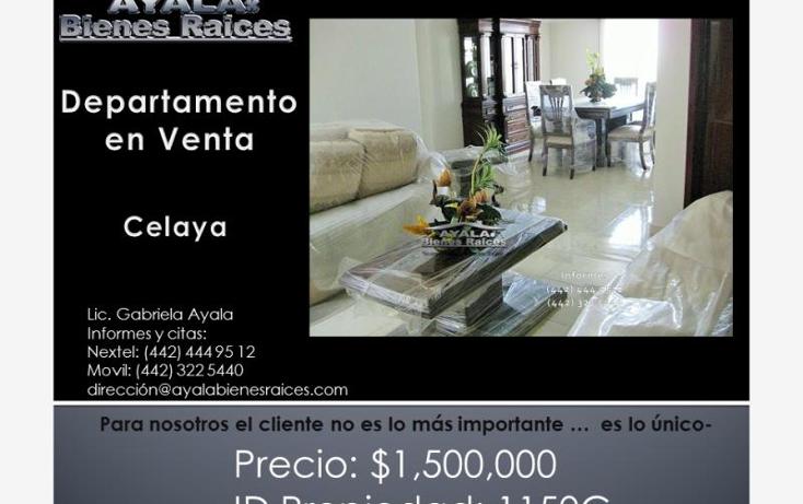 Foto de departamento en venta en  00, celaya centro, celaya, guanajuato, 1160271 No. 01