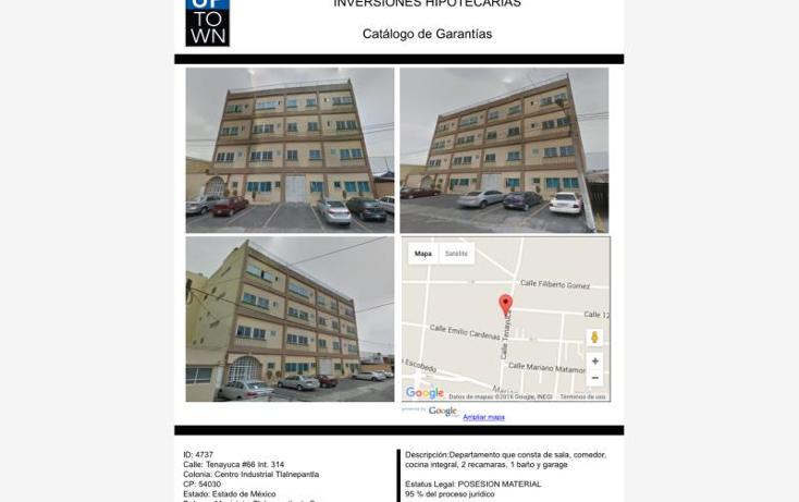 Foto de departamento en venta en  00, centro industrial tlalnepantla, tlalnepantla de baz, méxico, 1732914 No. 01
