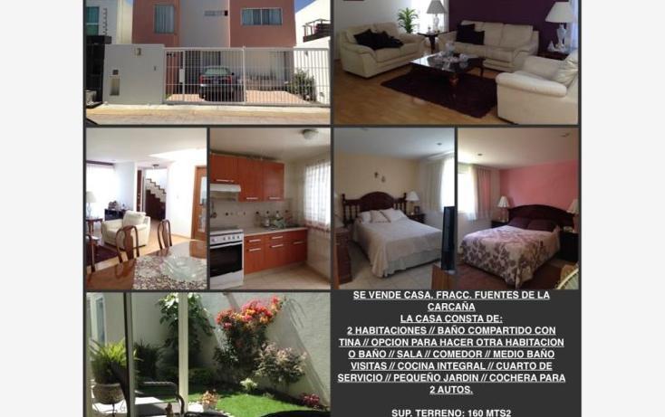 Foto de casa en venta en  00, fuentes de la carcaña, san pedro cholula, puebla, 1685338 No. 10