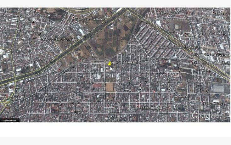 Foto de terreno habitacional en venta en  00, obrera, morelia, michoac?n de ocampo, 1988672 No. 06