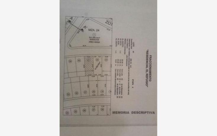 Foto de terreno habitacional en venta en  00, residencial el refugio, quer?taro, quer?taro, 1901300 No. 01