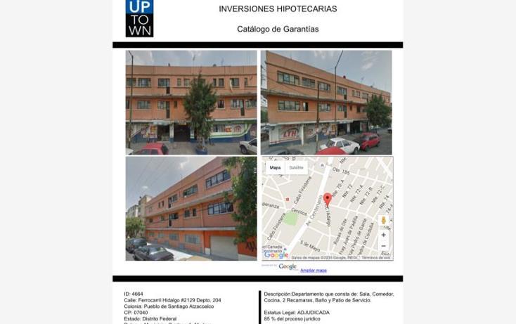 Foto de departamento en venta en  00, santiago atzacoalco, gustavo a. madero, distrito federal, 1594068 No. 01