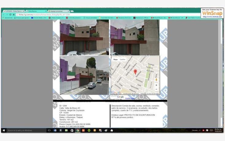 Foto de casa en venta en  00, vergel de coyoacán, tlalpan, distrito federal, 2038036 No. 03