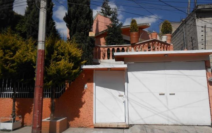 Foto de casa en venta en  000, del parque, toluca, méxico, 1331545 No. 01