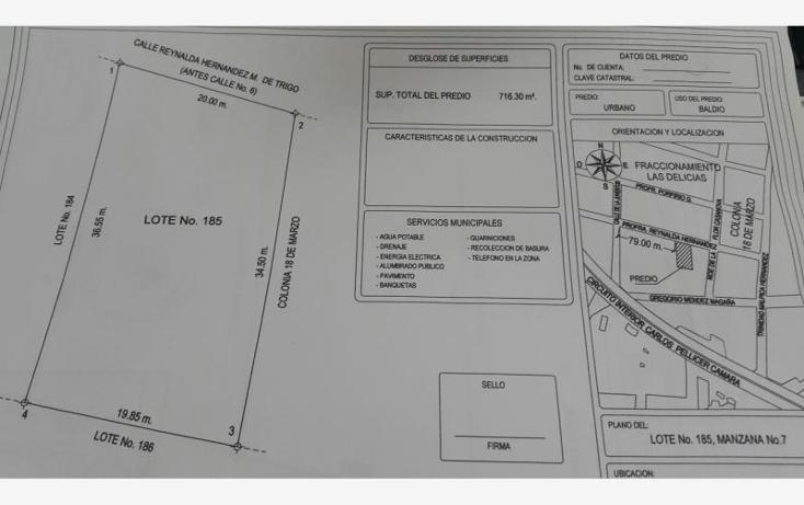 Foto de terreno comercial en venta en profa. reynalda hernández 000, las delicias, centro, tabasco, 1487613 No. 10