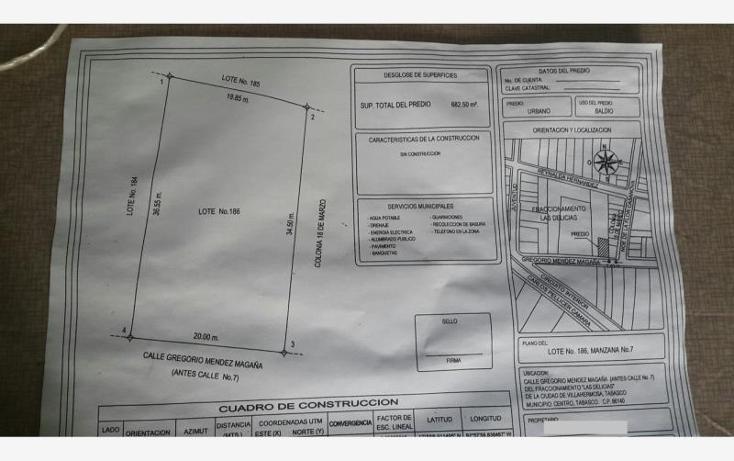 Foto de terreno comercial en venta en profa. reynalda hernández 000, las delicias, centro, tabasco, 1487613 No. 11