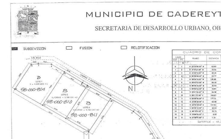 Foto de terreno habitacional en venta en valle de cadereyta 000, valle de cadereyta, cadereyta jiménez, nuevo león, 1995124 No. 01