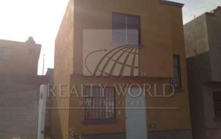 Foto de casa en venta en  0000, balcones de zirandaro, juárez, nuevo león, 1408351 No. 01