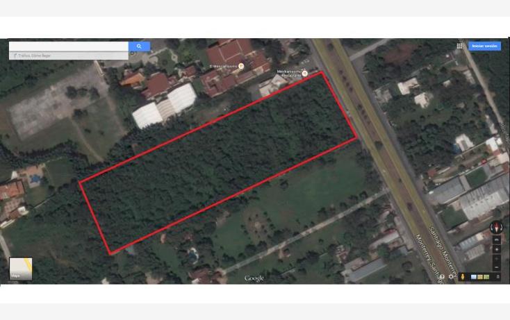 Foto de terreno comercial en venta en  0000, el barrial, santiago, nuevo león, 970161 No. 01