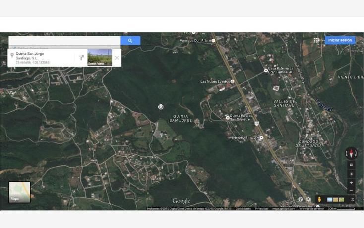 Foto de terreno comercial en venta en  0000, valles de santiago, santiago, nuevo león, 879369 No. 02