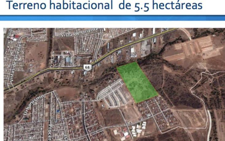 Foto de terreno habitacional en venta en  001, valle de los cactus, aguascalientes, aguascalientes, 490120 No. 01