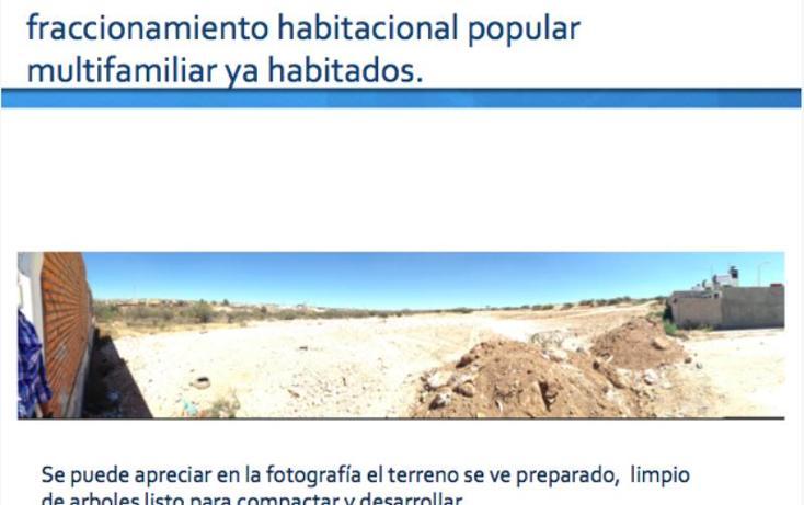 Foto de terreno habitacional en venta en  001, valle de los cactus, aguascalientes, aguascalientes, 490120 No. 03