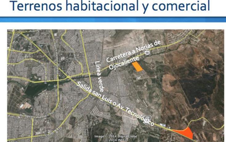 Foto de terreno habitacional en venta en  001, valle de los cactus, aguascalientes, aguascalientes, 490120 No. 05