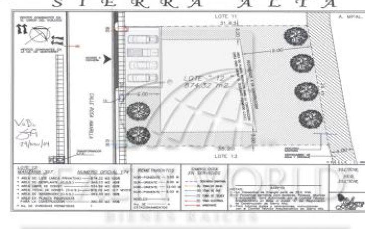 Foto de terreno habitacional en venta en 005, sierra alta 3er sector, monterrey, nuevo león, 1716886 no 06