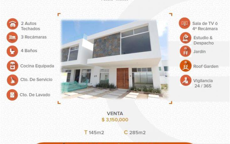 Foto de casa en venta en 1 1, alta vista, san andrés cholula, puebla, 1565814 no 01