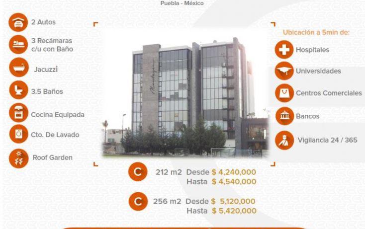 Foto de departamento en venta en 1 1, alta vista, san andrés cholula, puebla, 1612790 no 01