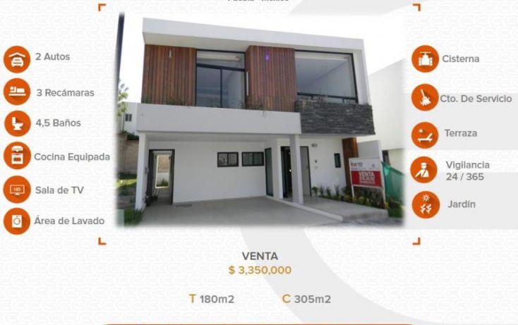 Foto de casa en venta en 1 1, alta vista, san andrés cholula, puebla, 2023404 no 01