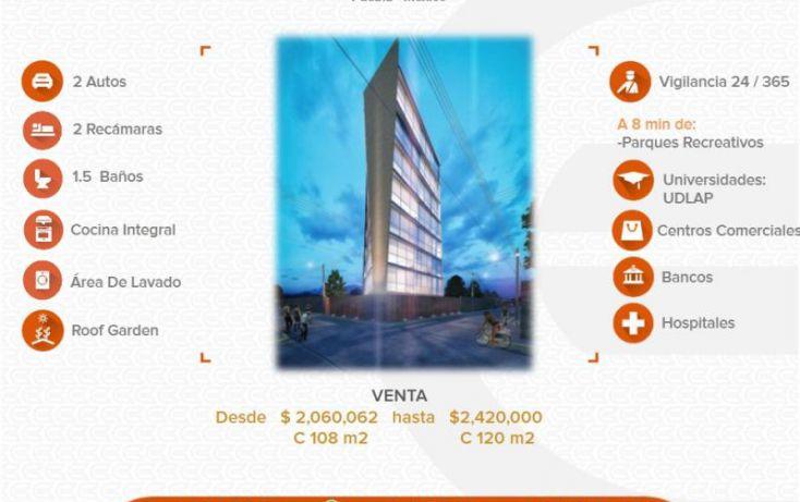 Foto de departamento en venta en 1 1, arcoiris, san pedro cholula, puebla, 1411803 no 01