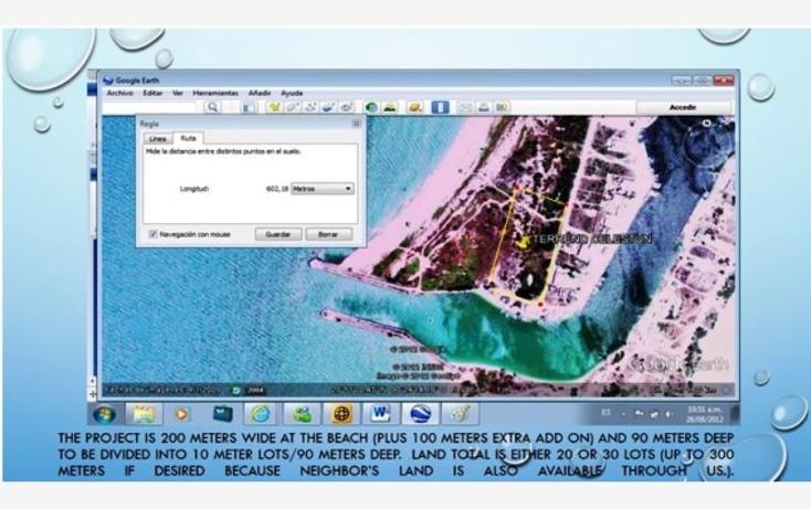 Foto de terreno habitacional en venta en 1 1, celestun, celestún, yucatán, 1424965 no 02
