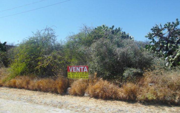 Foto de terreno habitacional en venta en 1 1, centenario, tequisquiapan, querétaro, 1783560 no 02