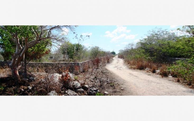 Foto de terreno habitacional en venta en 1 1, cheuman, mérida, yucatán, 840293 no 02