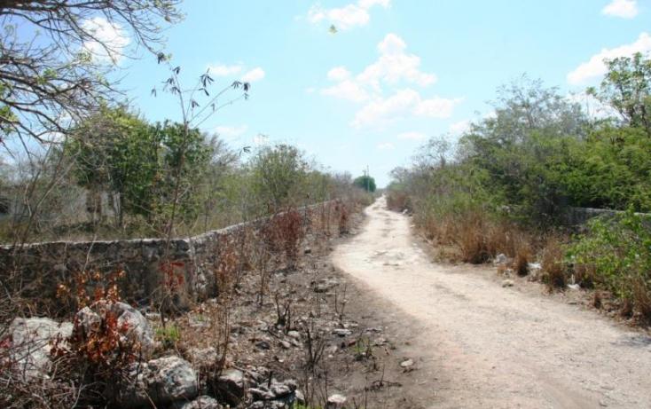 Foto de terreno habitacional en venta en 1 1, cheuman, mérida, yucatán, 840293 no 09