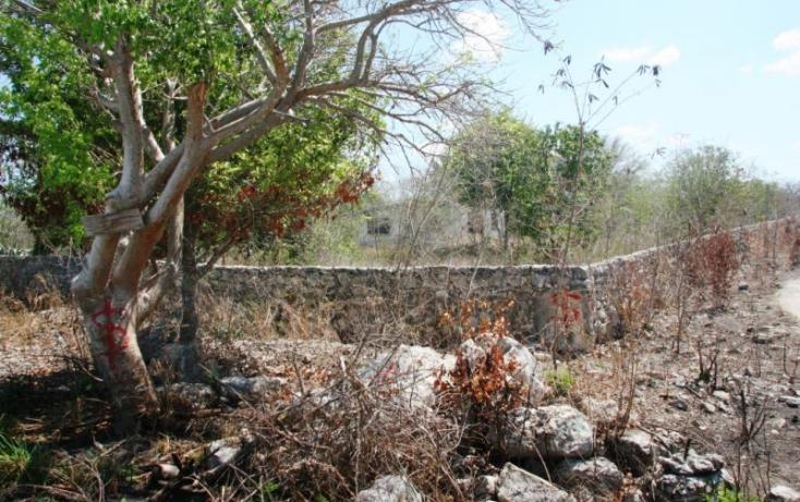 Foto de terreno habitacional en venta en 1 1, cheuman, mérida, yucatán, 840293 no 10