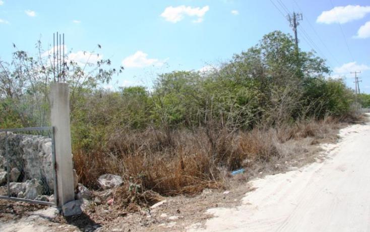 Foto de terreno habitacional en venta en 1 1, cheuman, mérida, yucatán, 842899 no 01