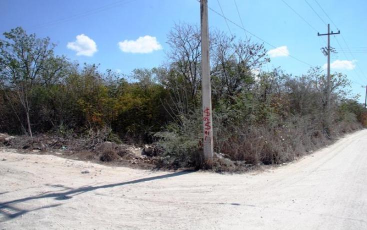 Foto de terreno habitacional en venta en 1 1, cheuman, mérida, yucatán, 842899 no 04