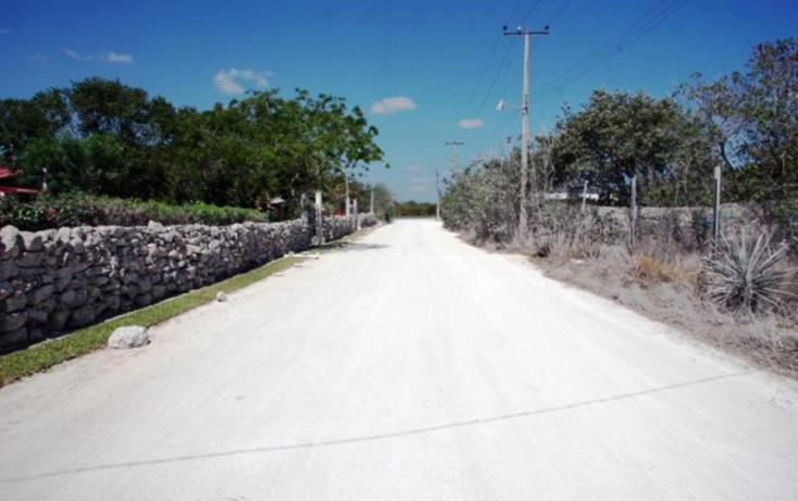 Foto de terreno habitacional en venta en 1 1, cheuman, mérida, yucatán, 842899 no 05