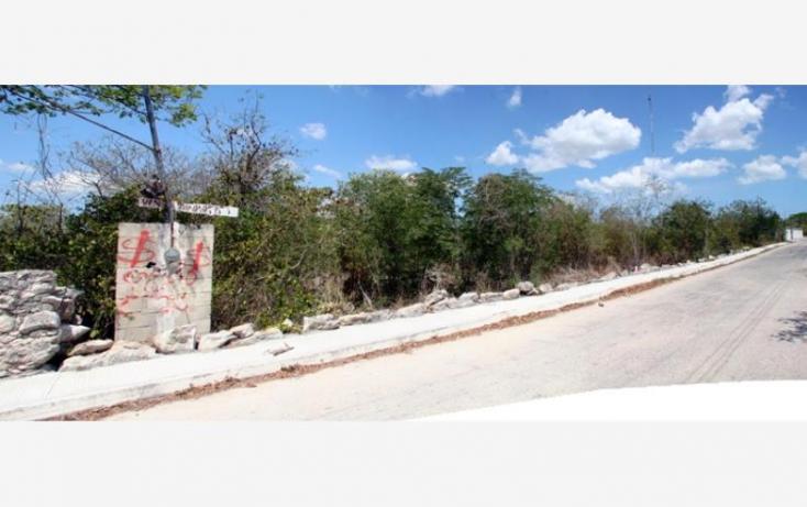 Foto de terreno habitacional en venta en 1 1, cheuman, mérida, yucatán, 846027 no 02