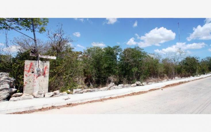 Foto de terreno habitacional en venta en 1 1, cheuman, mérida, yucatán, 846027 no 03