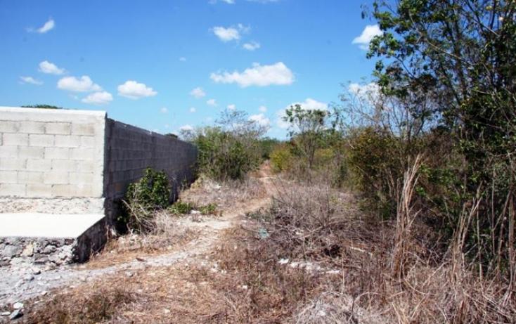 Foto de terreno habitacional en venta en 1 1, cheuman, mérida, yucatán, 846033 no 01