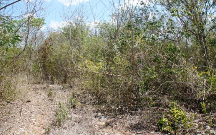 Foto de terreno habitacional en venta en 1 1, cheuman, mérida, yucatán, 846033 no 02