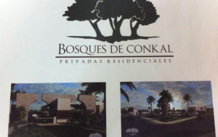 Foto de terreno habitacional en venta en 1 1, conkal, conkal, yucatán, 1979984 no 01