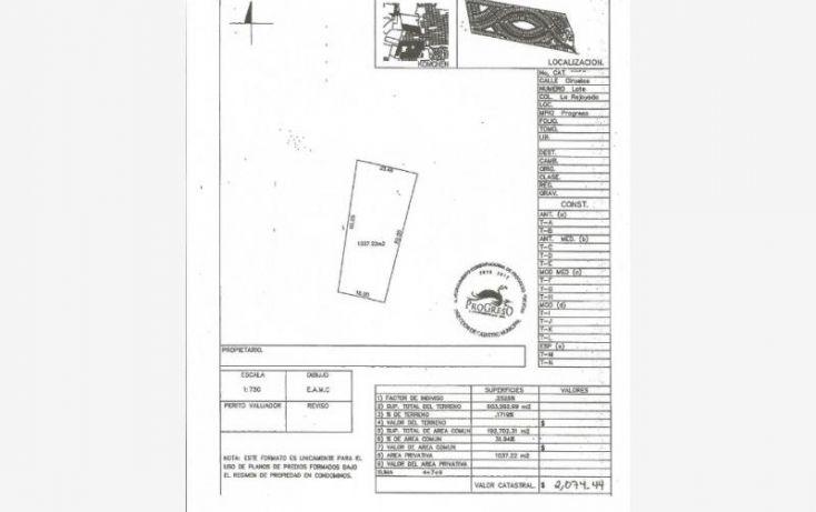 Foto de terreno habitacional en venta en 1 1, komchen, mérida, yucatán, 1979634 no 07