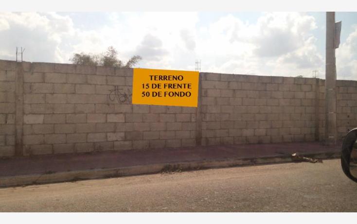 Foto de terreno habitacional en venta en 1 1, leandro valle, mérida, yucatán, 1979452 No. 01