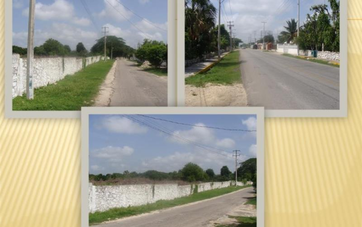 Foto de terreno habitacional en venta en  1, miguel hidalgo, umán, yucatán, 1937090 No. 02