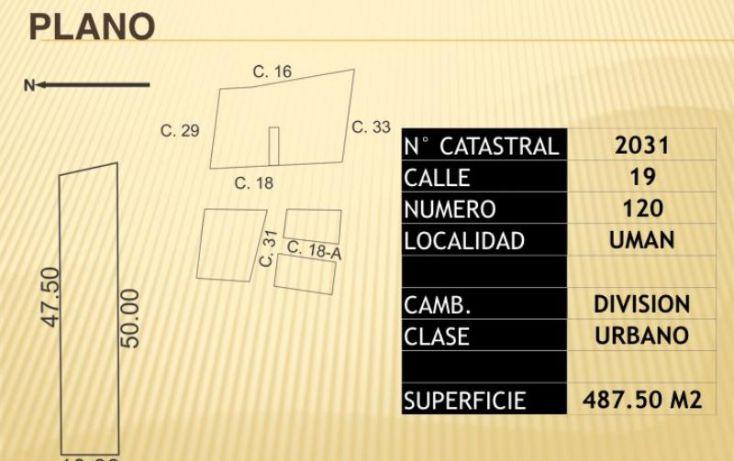 Foto de terreno habitacional en venta en 1 1, miguel hidalgo, umán, yucatán, 1987166 no 06