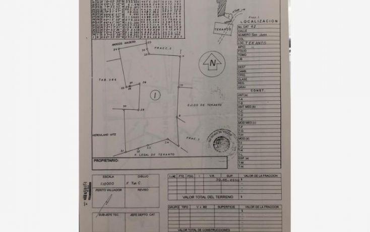 Foto de terreno industrial en venta en 1 1, tekanto, tekantó, yucatán, 1986698 no 01