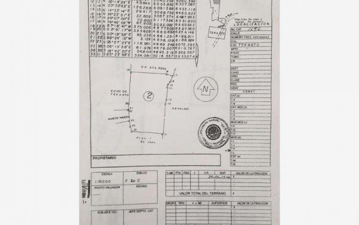 Foto de terreno industrial en venta en 1 1, tekanto, tekantó, yucatán, 1986698 no 03