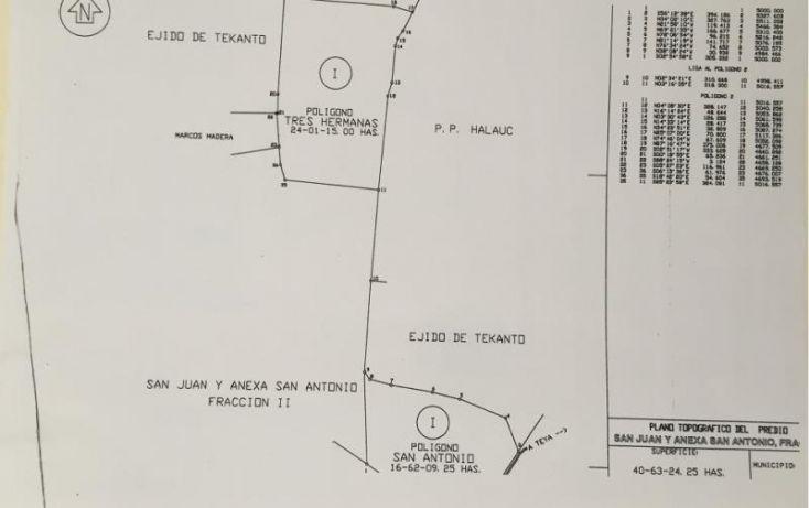 Foto de terreno industrial en venta en 1 1, tekanto, tekantó, yucatán, 1986698 no 06
