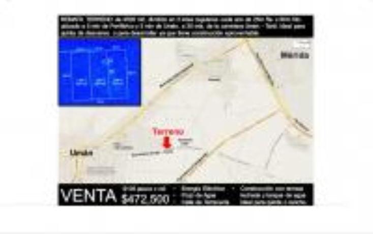 Foto de terreno habitacional en venta en 1 1, uman, umán, yucatán, 517732 No. 02